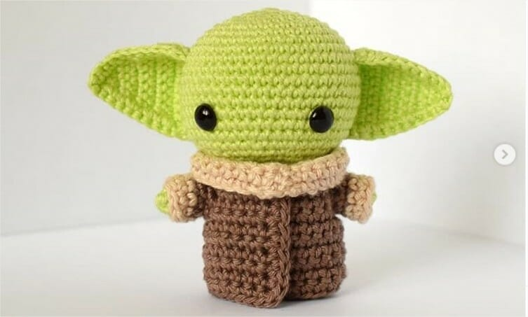 35+ Beautiful Picture of Yoda Crochet Pattern (With images ...   453x753